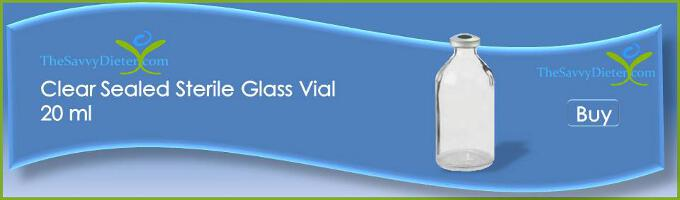 Buy Clear Sealed Sterile Glass Vial