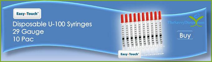 Buy Easy Touch Disposable U-100 Syringes