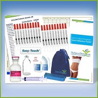 HCG 23-Day Diet Program 5000iu and Supplies Kit